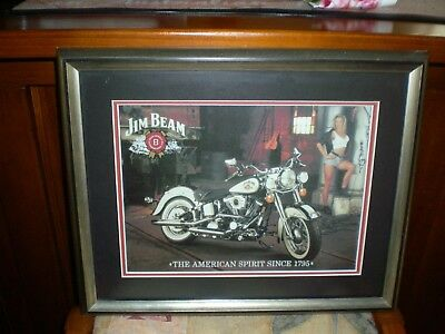 Jim Beam Collectable Framed Picture