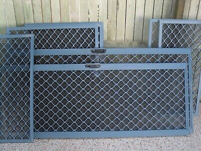 Aluminum Security Windows And Sliding Doors Screens { Complete House } The Lot