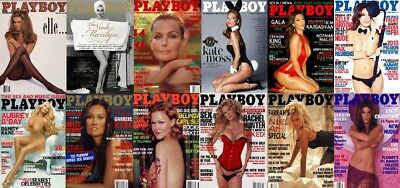 Celebrities In Playboy Magazines Collection 116 Issues In PDF 2 DVD Set