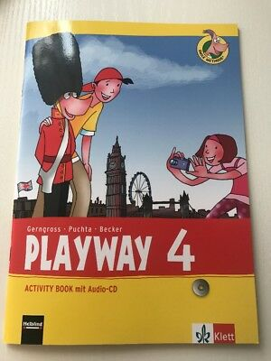 Playway 4, Activity Book mit Audio-CD,(2013) ISBN 9783125881310