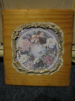 Tasmanian Pine Bouquet  Wall Picture Ready To Hang ***must See***