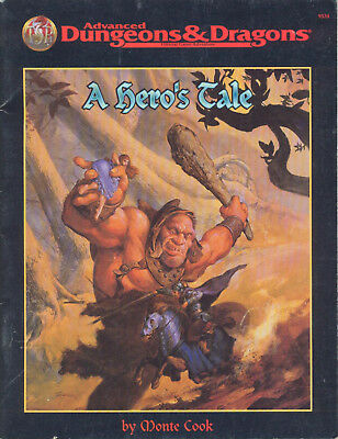 (AD&D) Advanced Dungeons & Dragons - A HERO'S TALE