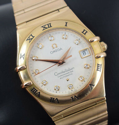 Omega Constellation 18K Rose Gold  110.43.500   Box/papers/gtee  2007 Yr   £20K