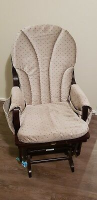 Timber Rocking Chair with cushion