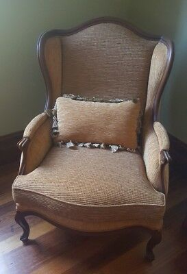 wingback armchair  2nd of 2