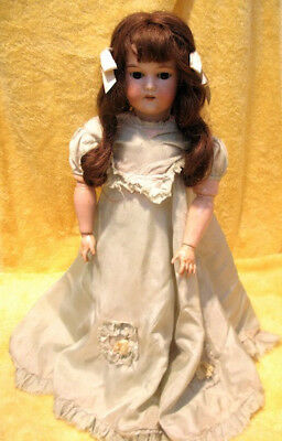 Beautiful Antique Doll by CM Bergmann, Made In Germany 1930