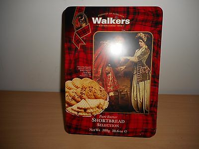 Walkers Shortbread Selection Biscuit Tin '' Farewell '' Use By 30/06/1994