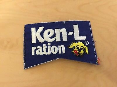 ken-l ration patch, new   old stock, 1970's ,no border