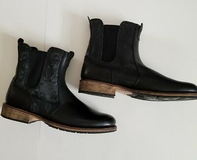 Harley Davidson Leather Chelsea Motorcycle  Boot Stock No 94109 US Men's 11