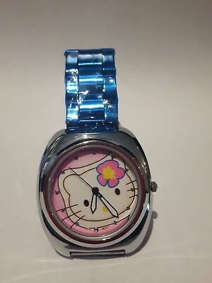 Ladies hello kitty watch NEW ALL stainless STEEL! Japan protective  wrapper