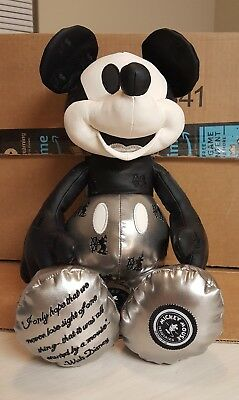 Disney Memories Mickey Mouse Steamboat Willie Plush - January Limited Edition