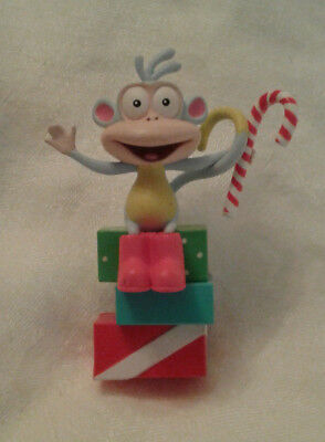 2004 Dora the Explorer Boots Monkey Christmas Ornament
