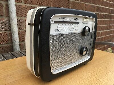 VINTAGE DEFIANT A55 RADIO 1963 Fully Working