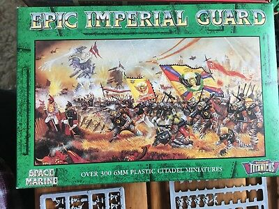 Imperial Guard Army - Warhammer Epic 40k Adeptus Titanicus (incomplete)