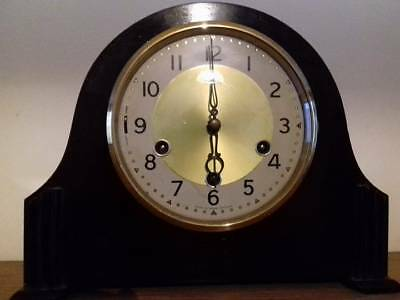 Smiths 8 Day Westminster Chiming Mantel Clock. 1956. Fully Overhauled.