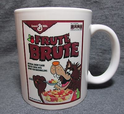Frute Brute Cereal Box Coffee Cup, Mug - GM Classic - Sharp - COLLECT THE SET!