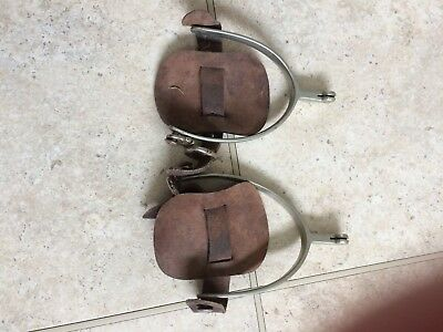 Cowboy Western Spurs With Straps