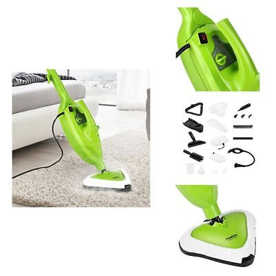 10 in 1 1500W Powerful Non Chemical Handheld Hot Steam Cleaner Mops & Carpet New