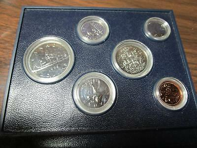 1985 - Canada - 6 Coins Proof Set                     (G-51)