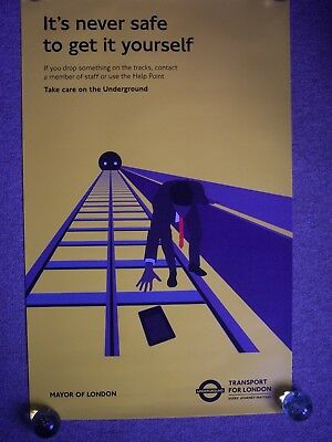 London underground tube art poster its never safe to get it london underground tube art poster its never safe to get it yourself solutioingenieria Gallery