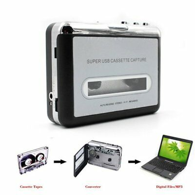 5X(Tape to PC Super USB Cassette-to-MP3 Capture Music Player CD Converter R3Q7
