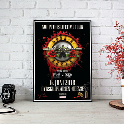 Guns N Roses | Odense - Concert Not in this Lifetime Tour 2018, Fine Art Poster