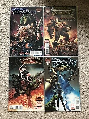 Guardians of Knowhere #1-4 Comics Complete