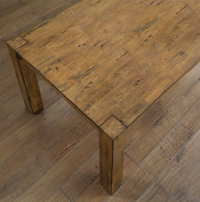 Better Homes Gardens Bryant Dining Table Rustic Brown 24816