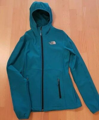 The North Face Damen Soft Sheel Jacke Gr. XS/TP in türkis