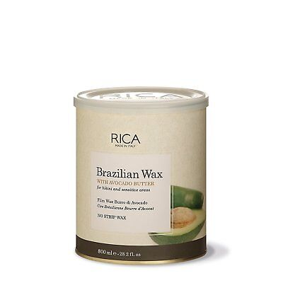Rica Brazilian Wax Tin 800 Ml for Intimate Areas & Hot Wax Application without