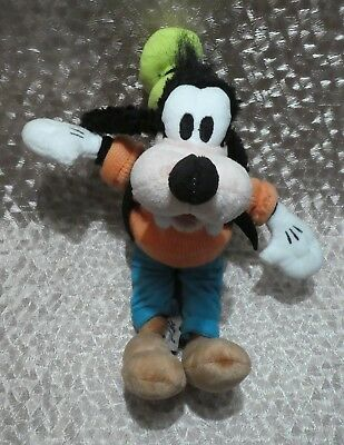 Disney Parks Goofy Soft Toy With Clothing Authentic Original 11""