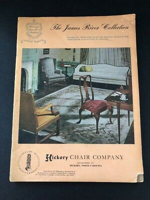 THE JAMES RIVER COLLECTION-Hickory Chair Company, North Carolina VINTAGE Catalog