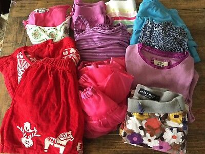 Name brand Lot Of Girls Clothes 4-6 heartstrings, Hanna Andersson, Mini Boden,