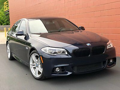 2014 BMW 5-Series 550i M-Sport + Individual 2014 BMW 550i M-Sport Individual 26k miles Blue/Brown Immaculate Condition Clean