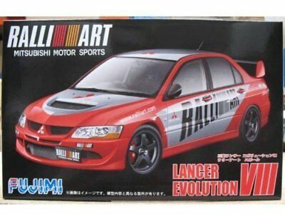 Fujimi ID-148 1/24 scale Mitsubishi Lancer Evolution VIII from Japan