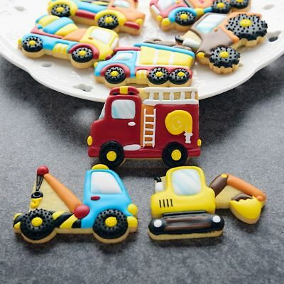 8pcs/set Pastry Making Car Biscuit Mould Baking Mold Cookie Cutters Cake Decor