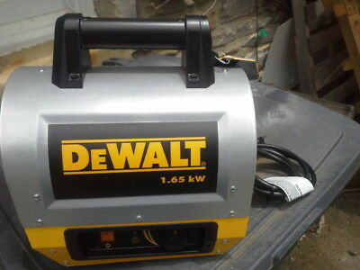 DEWALT DHX165 1.65 kW 5,630 BTU Electric forced  air Portable Heater F340635