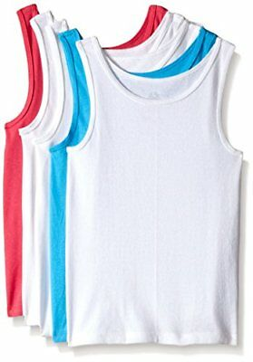 Fruit of the Loom Big Girls' Assorted Tank (Pack of 5) XL