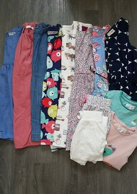 GIRLS SUMMER BUNDLE AGE 4-5 Years NEXT,JOULES,DRESSES,FLORAL,SHORTS,TOPS,OUTFIT