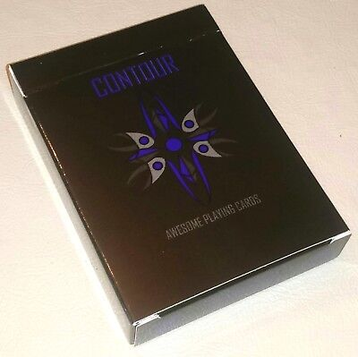 CONTOUR Playing Card Deck Rare Limited Edition Deck New/Sealed Kickstarter Only