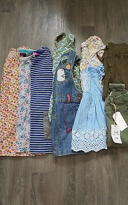 GIRLS SUMMER BUNDLE AGE 3-4 Years NEXT,JOULES,M&S,DRESSES,JEANS,TOPS,SET,FLORAL