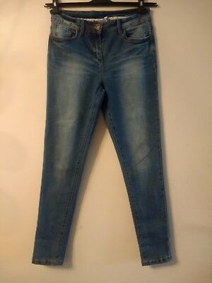 woman's red Herring summer straight leg jeans size 12