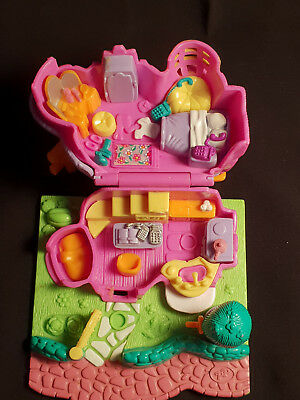 Polly Pocket mini Bluebird Vintage 1994 Rabbit House Hase