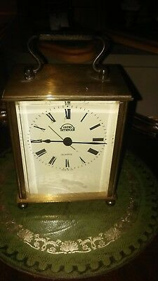 Cracking Smith's Brass Cased Carriage Clock ( Fully Working)
