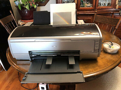EPSON STYLUS PHOTO R2400 with MATTE CANVAS ROLL and INK CARTRIDGES