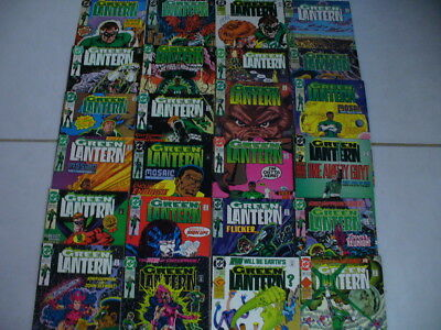 Green Lantern 1990 Lot 70 Corps Annuals Lord Team Up Emerald Knights Sets Series