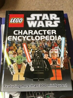 Star Wars Lego Character Encyclopaedia Featuring More Than 300 Minifigure s