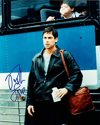 "ROB LOWE. Signed Photo from ""Tommy Boy"" - St. Elmo's Fire, Parks And Recreation"