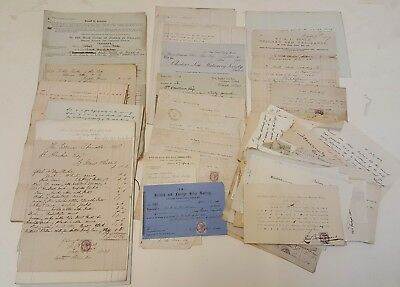 Collection of documents 19th century