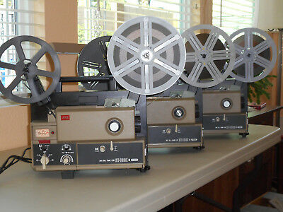 A FILM COLLECTOR'S LIBRARY AND EQUIPMENT. Super 8mm sound & silent. 16mm sound